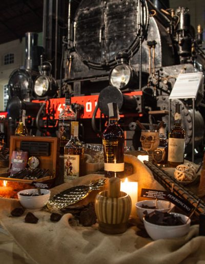 Sire Ricevimenti - catering e buffet, angolo del cubano durante un matrimonio in Campania Napoli Pietrarsa