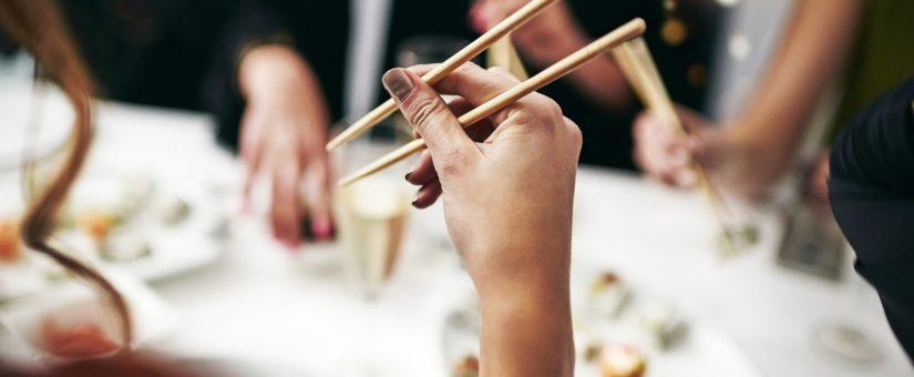 Menù sushi al matrimonio
