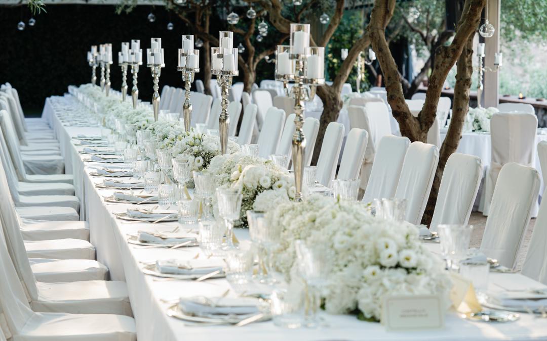 Tavolo imperiale al matrimonio: 5 motivi per sceglierlo